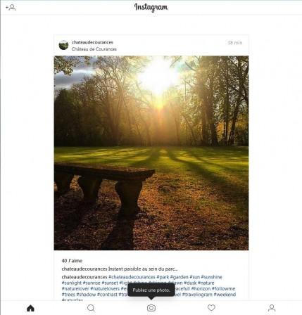 Instagram dans Firefox avec User-Agent Switcher sur Android