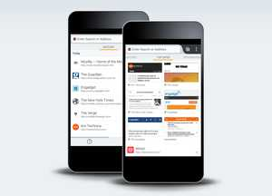 Firefox 26 pour Android bêta accueil