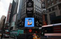 Firefox OS sur Times Square à New-York