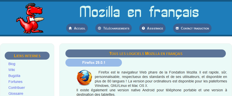 FIREFOX NIGHTLY EN FRANCAIS GRATUITEMENT