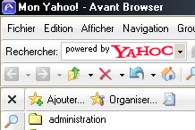 nouveautés d'Avant Browser 9.02 build 012