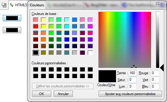 SeaMonkey 2.25 bêta 1 : Sélecteur de couleurs pour input type=color en HTML5