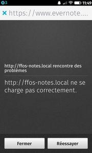 ffos-notes.local rencontre des problèmes