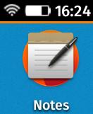 icône de Notes de Firefox OS