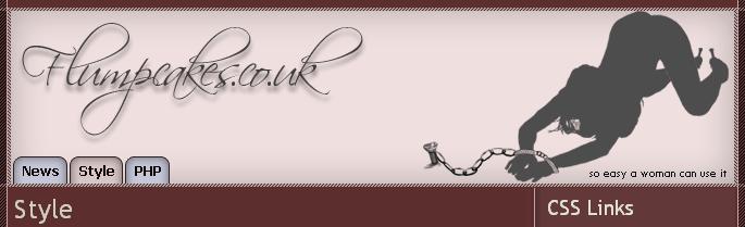 Bannière de titre avec stylisée une femme soumise enchaînée