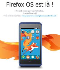 Lettre de Mozilla : Firefox OS est là