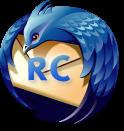 logo de Thunderbird marqué 'RC'