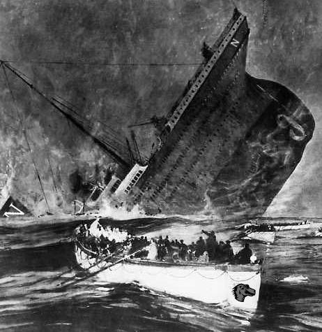 La fondation Mozilla est un canot de survie lors du naufrage du Titanic
