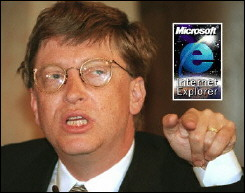 Bill Gates et Internet Explorer