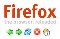 Icône du thème Winstripe pour Firefox 0.9.1
